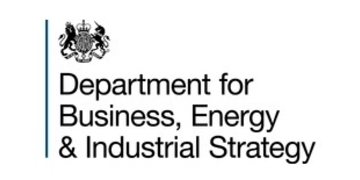 Department for Business, Energy and Industrial Strategy logo